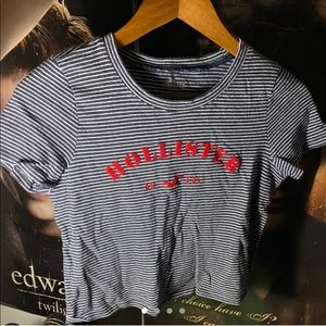 :Stripped Hollister shirt